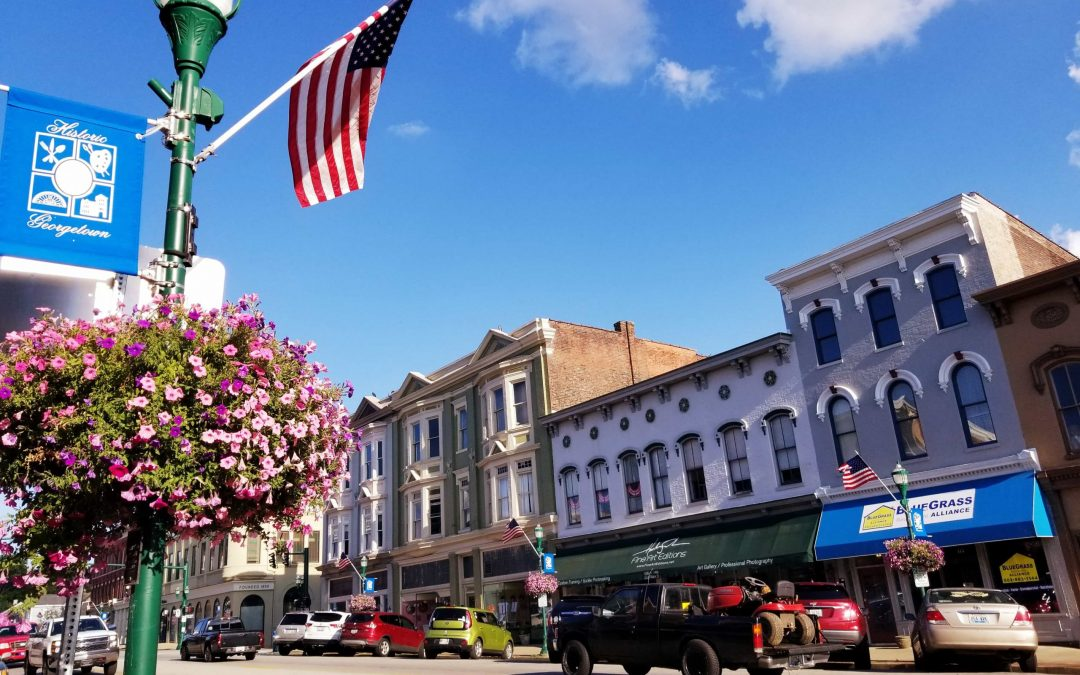 Georgetown, KY-Bourbon, History, and Horses