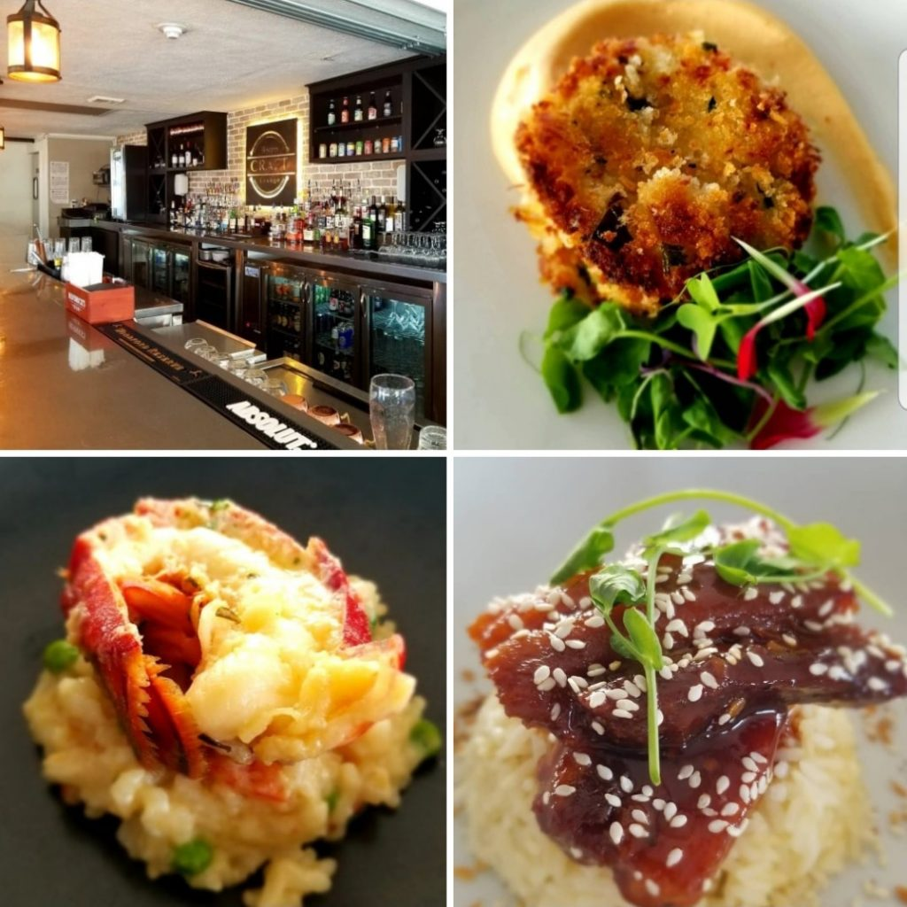 Delicious Dishes and Bar at Craft Bistro and Lounge- My Town Today